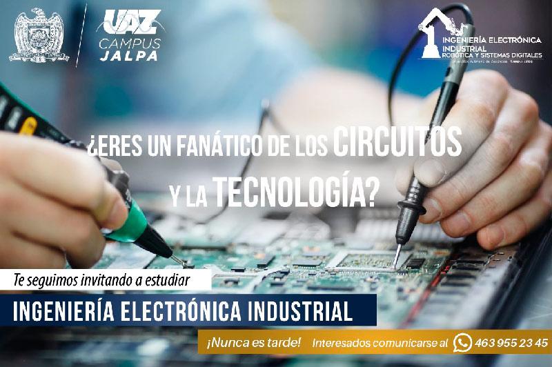 Estudia Ingeniería en Electrónica Industrial